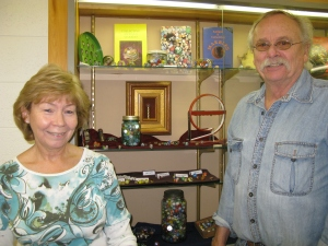 Lifeworks volunteers Bill and Ann Sylvander